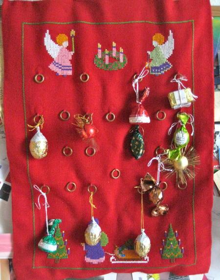 Chocolate based advent calendar