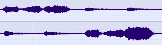 Amadeus displaying the same waveform.