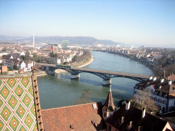 View of the Rhein from the Münster