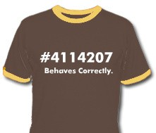 Behaves Correctly T-Shirt