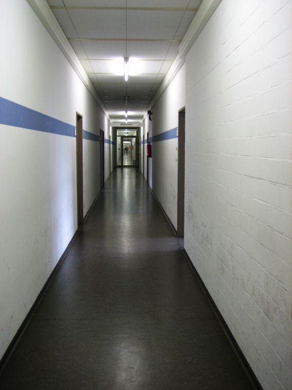 Corridor in Bielefeld university