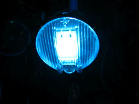 Front light on my bike