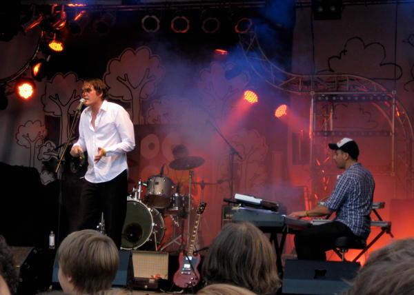 Die Sterne on stage at BootBooHook 2010