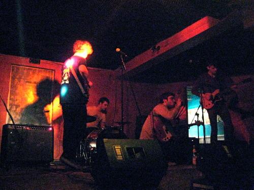 Brimstone Howl on stage