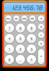 the Calculator widget