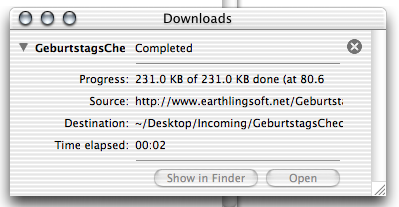 Bloated 'improved' download window design