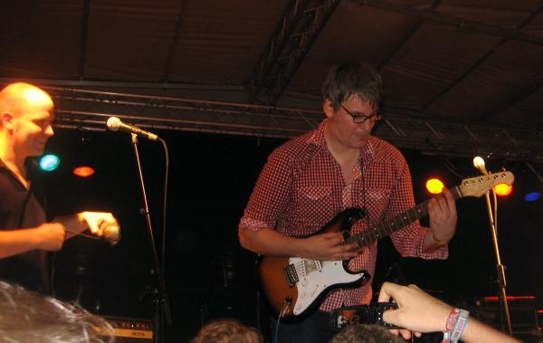 Superpunk guitarist and keyboarder
