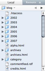 Coda File Listing