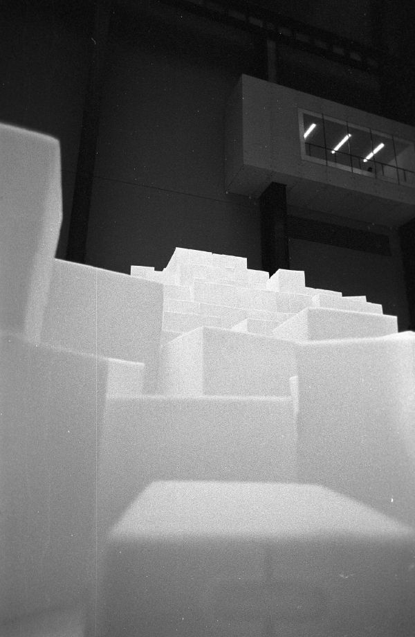 Cubes in Turbine hall.