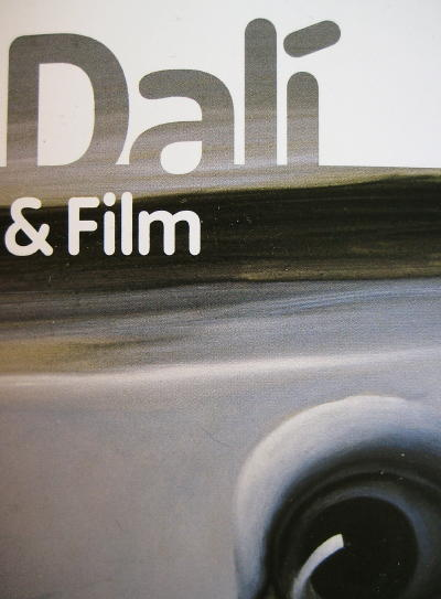 Cover of Dalí and Film brochure