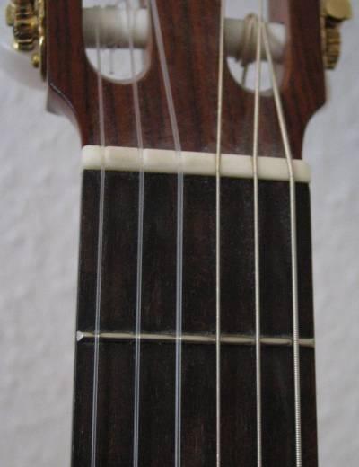 Part of Daniel's guitar