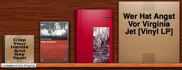Delicious Library screenshot of four items with two cover arts, one wrong size and two wrong 'wrappings'.