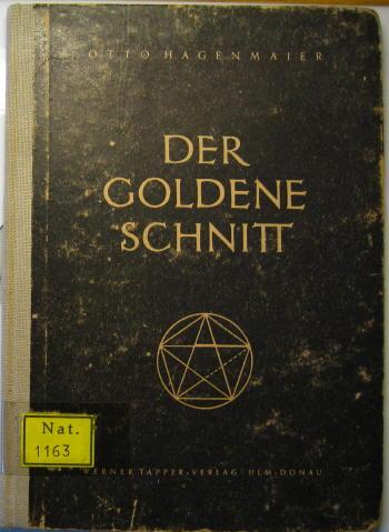 Book Cover Der Goldene Schnitt