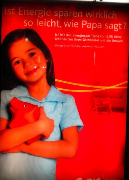 Energy company ad