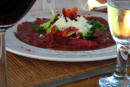 Springbok Carpaccio at Eikendal