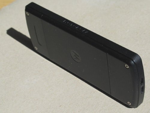 Clean-ish back of Motorola F3