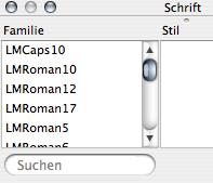 Extended Font Inspector