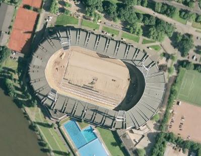 Weserstadion on Google Earth