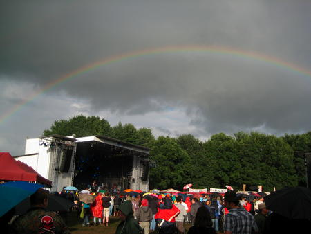 Rainbow at Haldern 2008