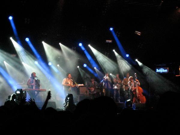 Mumford & Sons on the main stage at Haldern Pop 2010