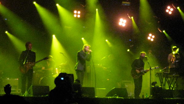 The National on the main stage at Haldern Pop 2010