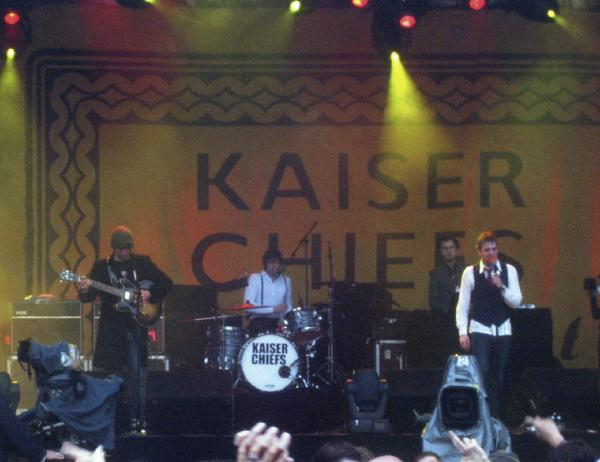 Kaiser Chiefs playing