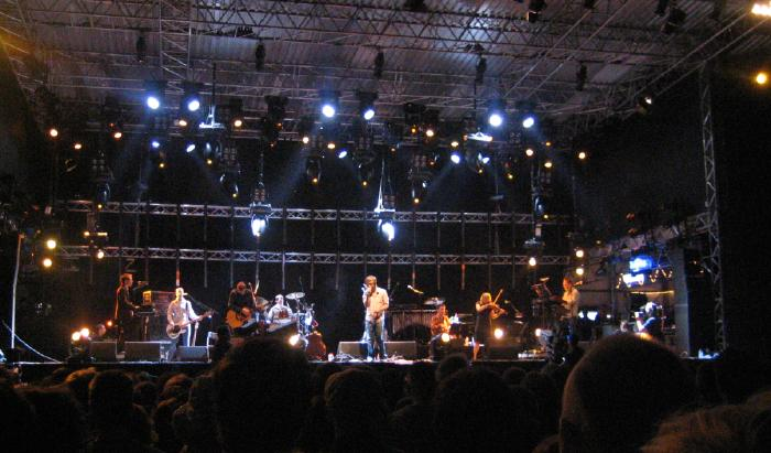 The Divine Comedy on stage