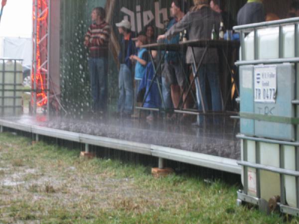 Rainy scene