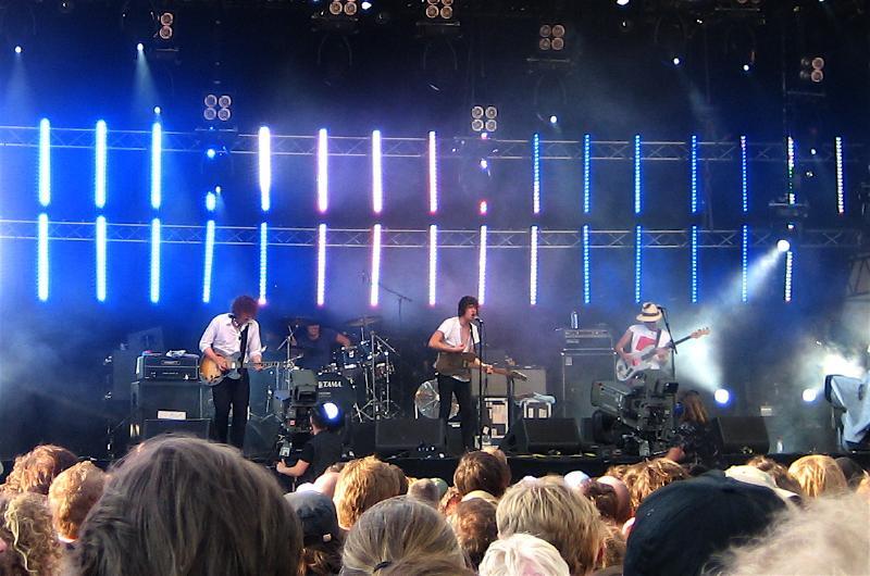 The Kooks on stage