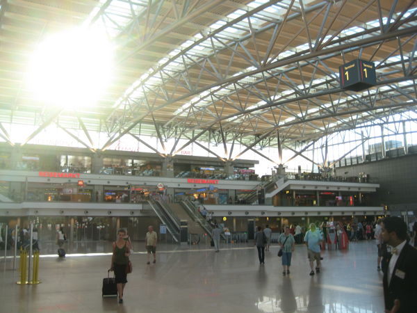 Terminal 1 at Hamburg Airport
