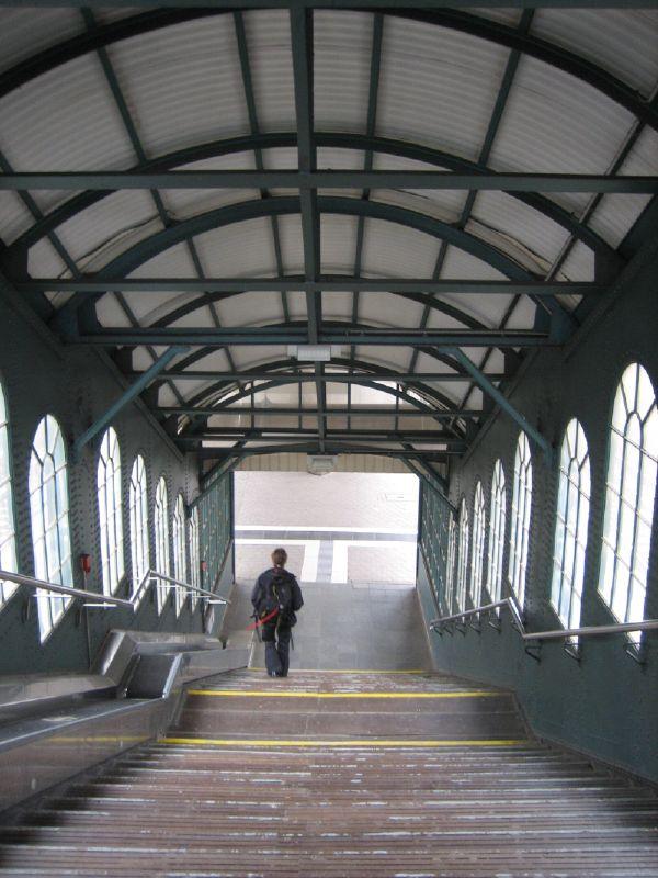 Staircase at Hamburg Harburg railway station
