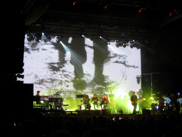 Sigur Rós on stage at Hurricane 2006