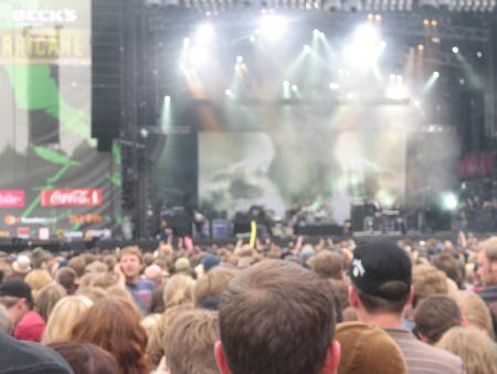 Placebo on stage