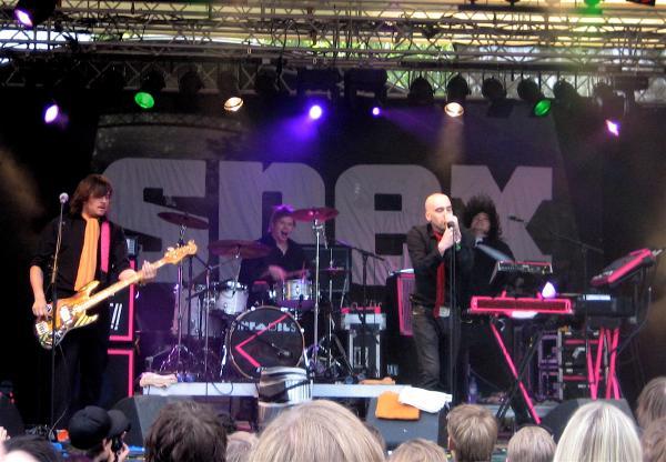 Infadels on stage