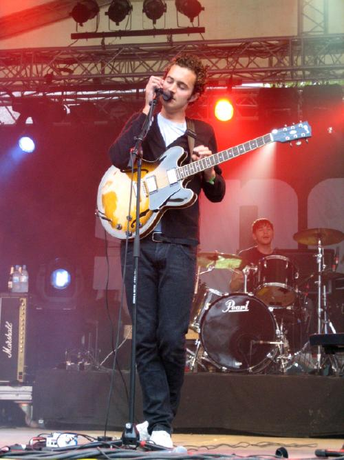 Editors on stage