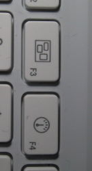New keys on the MacBook keyboard