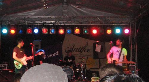 Matula on stage