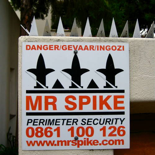 Mr Spike sign