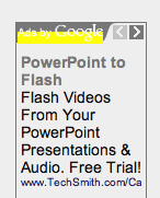 Google Ad PowerPoint to Flash
