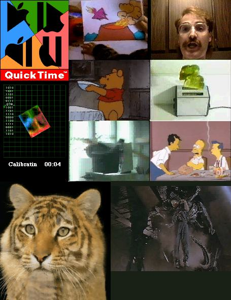 Stills from old QuickTime films