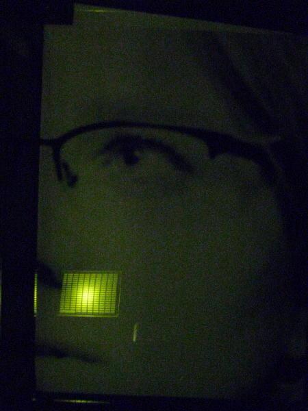 Giant print of an eye