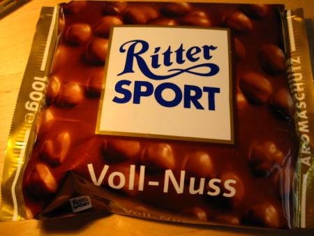 Old Ritter Sport packaging