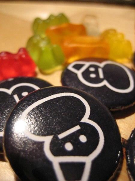 Little snowman buttons