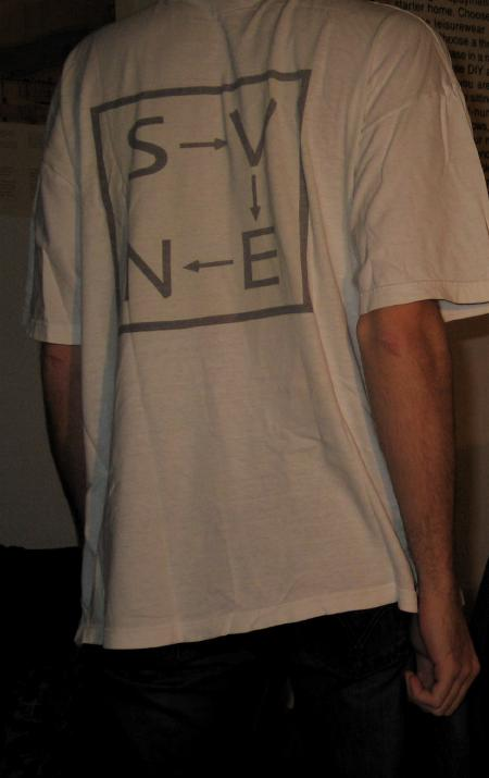 SVEN T-Shirt, could do with some ironing