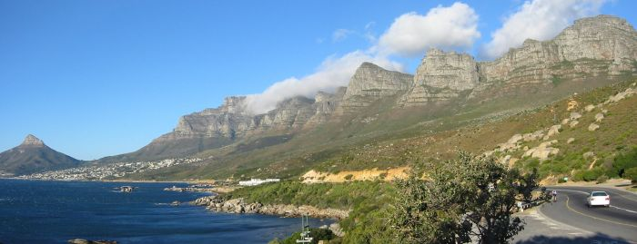 Back side of table mountain