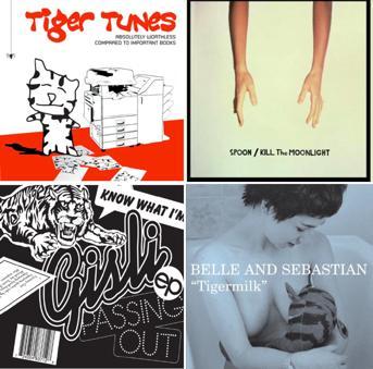 Tiger mix CD cover arts