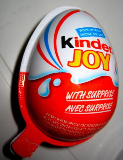 Unopened 'Kinder Joy' product