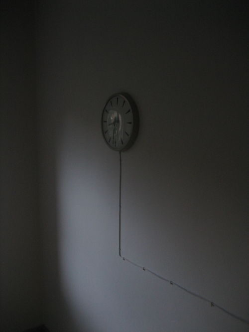 Wired clock