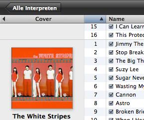 List of White Stripes albums