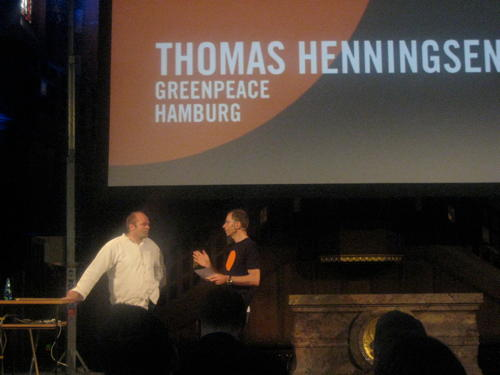 Thomas Henningsen speaking at see7